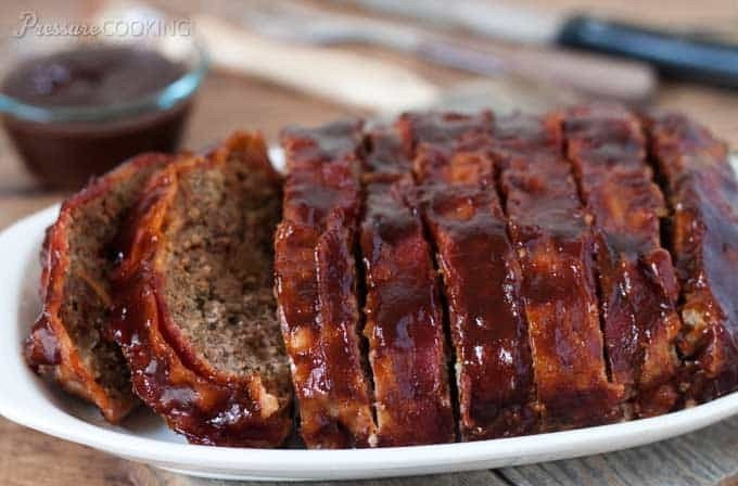 Main Dish: Grilled BBQ Meatloaf
