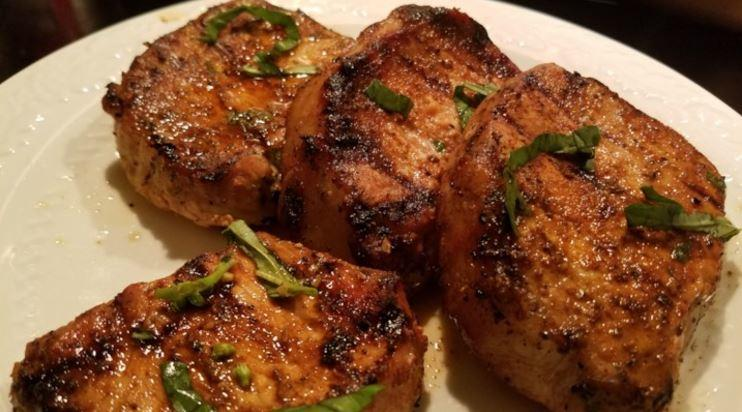 Grilled Chesapeke Bay Pork Chops