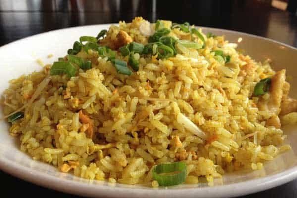 Side Dish: Curry Fried Rice