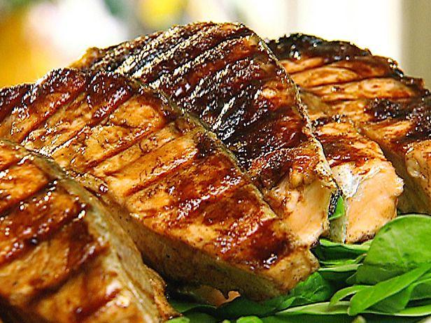 Main Dish: Grilled Chineese Salmon BBQ