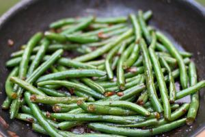 Side Dish: Sauteed Green Beans