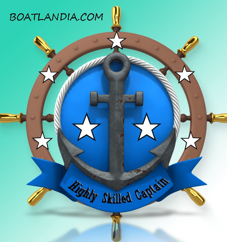 highly skilled captain badge